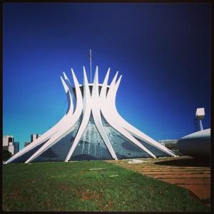 cathédrale de Brasilia, comme un arbre