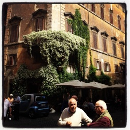 Le vert de Rome