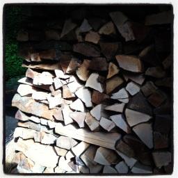 Les tas de bois